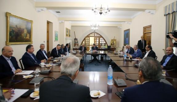 Rum Ulusal Konseyi'nin gündemi müzakere süreci ve 7. parseldeki gelişmelerdi