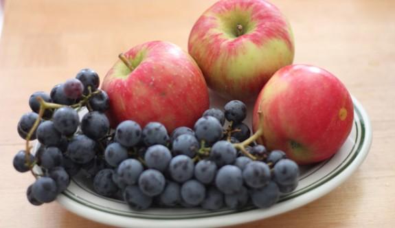 Üzüm, elma ve biberde limitüstü kalıntı