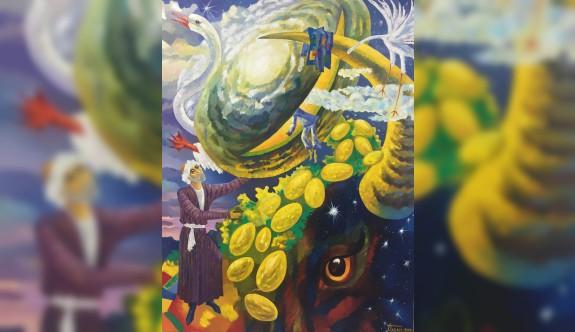 10 sanatçının 123 eseri sergilenecek