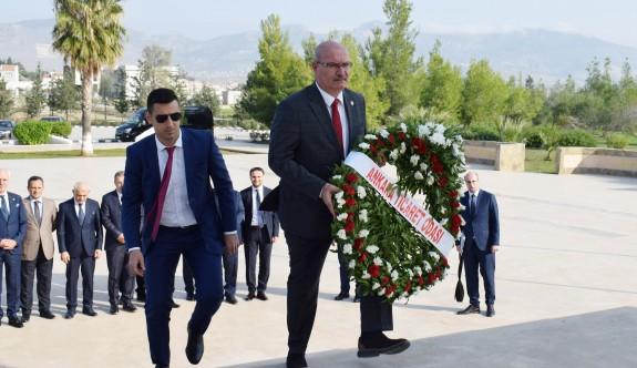 Ankara Ticaret Odası'ndan Anıttepe'ye ziyaret