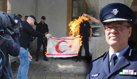 """""""Bayrak yakılması ciddi bir olay titizlikle araştırılacak"""""""