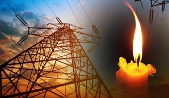 Bazı bölgelerde yarın elektrik kesintisi yapılacak