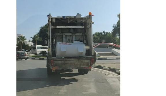 Çöp arabasıyla su deposu mu taşınır?