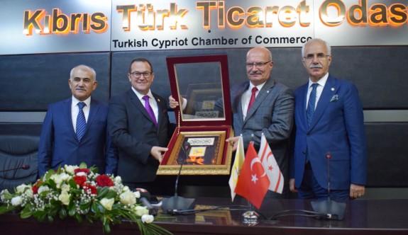 """""""Kıbrıs'ın güçlenmesi bizler için de bir emniyet unsurudur"""""""