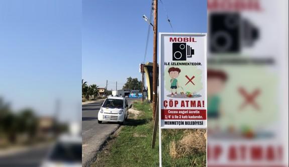 Mehmetçik Belediyesi çöp atanları kamerayla tespit edecek
