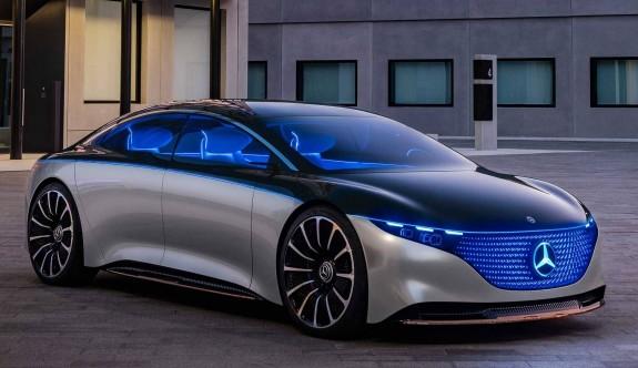 Mercedes Vision EQS, lüksün geleceğine ışık tutuyor