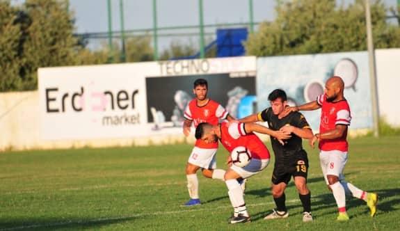 Ozanköy'de futbolcu isyanı