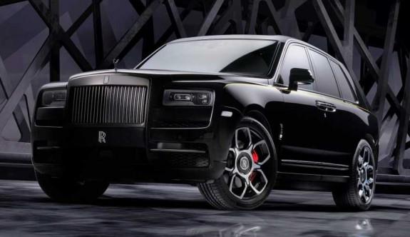 Rolls-Royce Cullinan'ın özel versiyonu:Black Badge