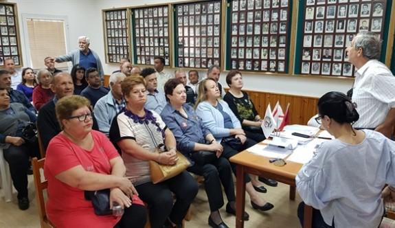 Şehit Aileleri ve Malül Gaziler Derneği'nde başkan yeniden Gürsel Benan