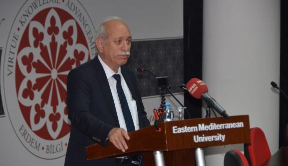 Türk Tarih Kurumu Başkanı DAÜ'de ders verdi