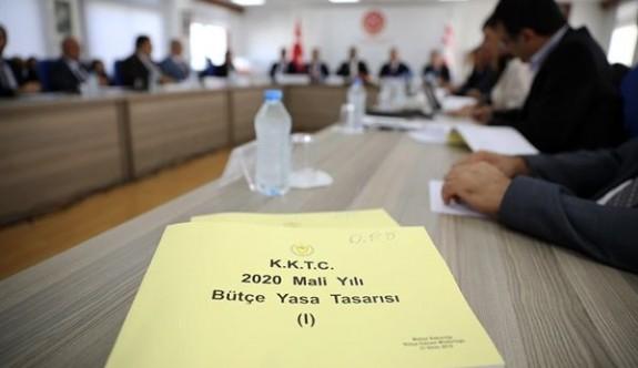 2020 Mali Yılı Bütçe Yasa Tasarısı Pazartesi Meclis Genel Kurulu'nda görüşülmeye başlanacak
