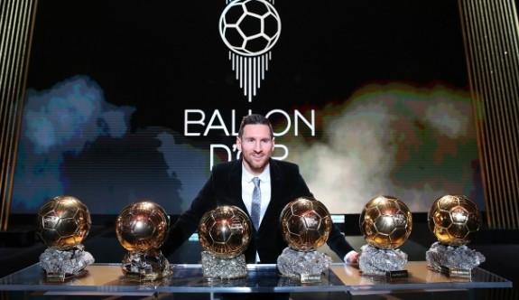 Altın Top 6. kez  Messi'nin