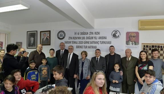 Cumhurbaşkanı Akıncı, satranç turnuvası açılışı yaptı