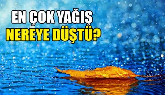 En çok yağış Dipkarpaz ve Mehmetcik'e düştü