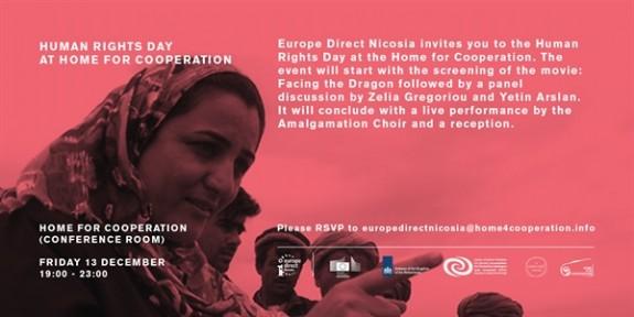 İnsan Hakları günü dolayısıyla film gösterimi düzenliyor