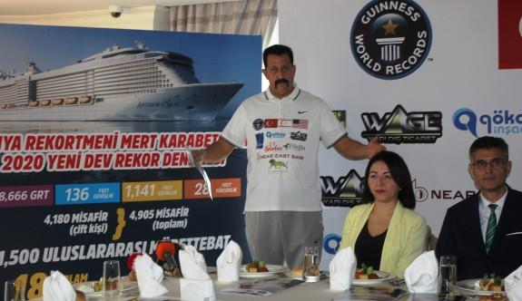 Karabetça dev cruise gemisi çekecek