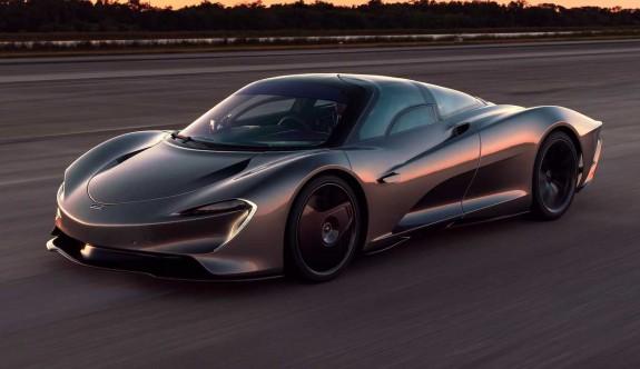 McLaren Speedtail'den hız rekoru