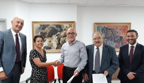 Near East Sigorta Ada Yazılım işbirliği için imzalar atıldı