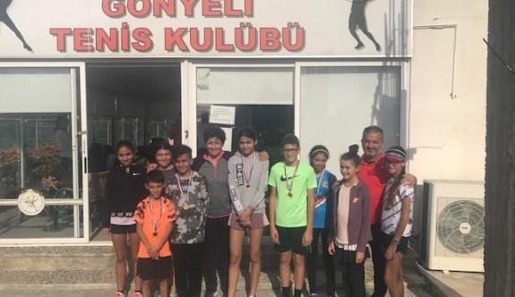 Teniste 12 yaş birincileri belirlendi