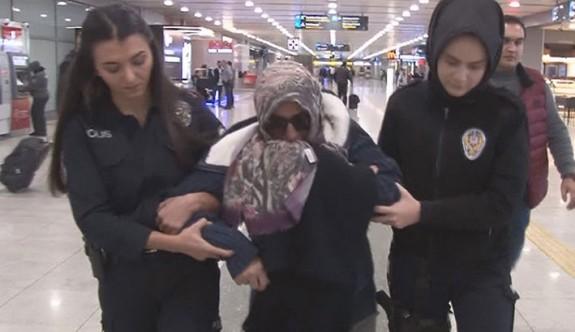Uçakta taşkınlık yapan kadının 10 yıla kadar hapsi istendi