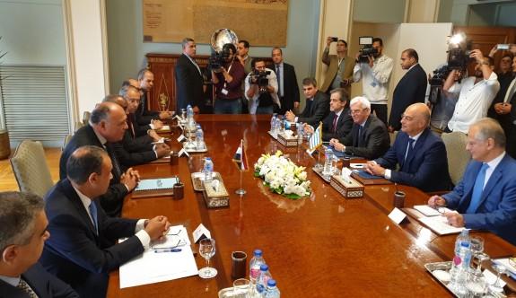 Yunanistan ile Mısır'dan Türkiye'ye yanıt geçikmedi