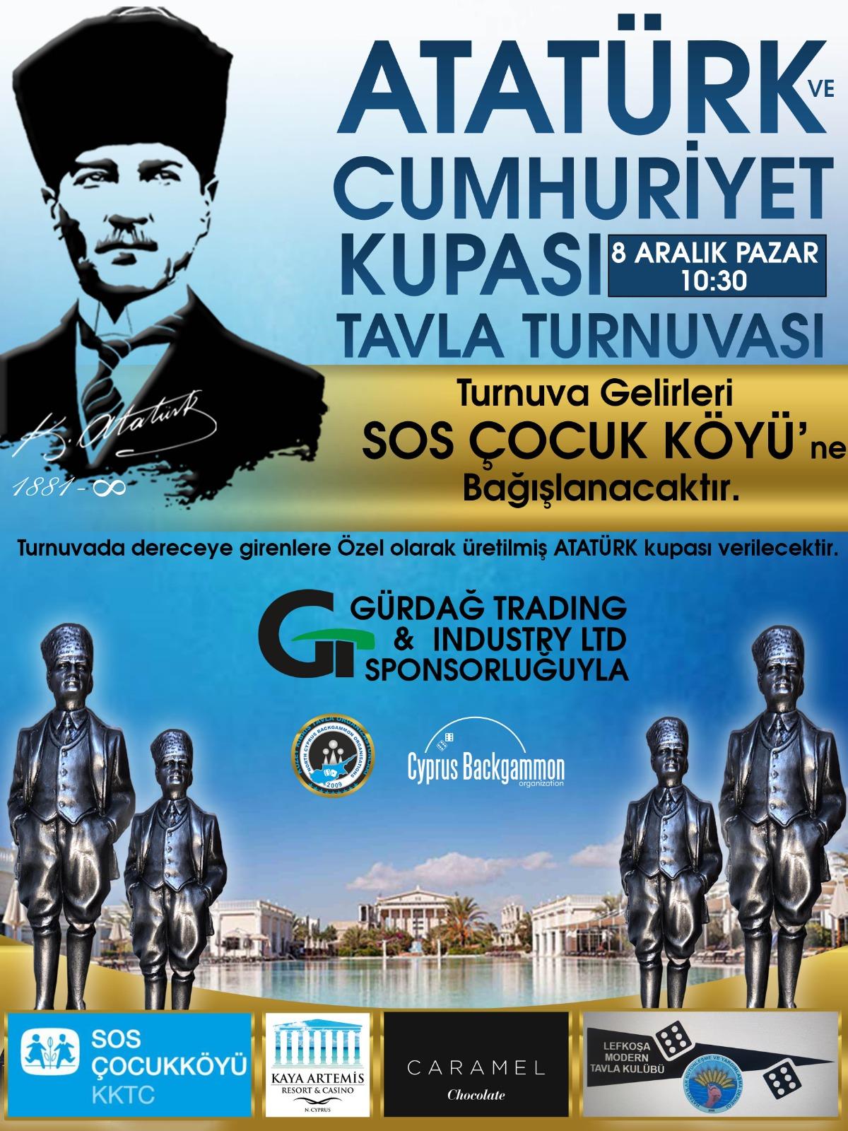 Zarlar, Atatürk ve Cumhuriyet için atılacak