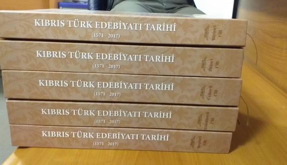 450 yıllık Kıbrıs Türk Edebiyatı ciltlendi