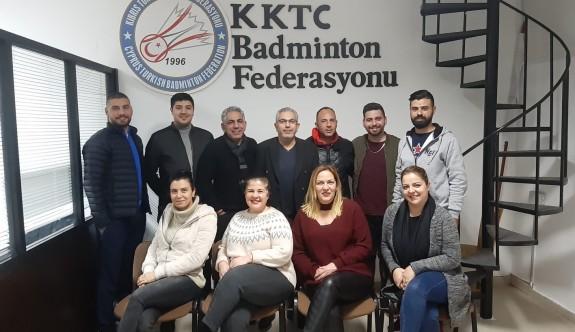 Badminton Federasyonu genel kurulu yapıldı