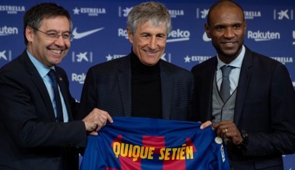 Barcelona'nın yeni teknik patronu Setien