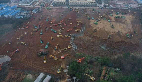 Çin, corona virüsü için bin yataklı hastane inşa ediyor
