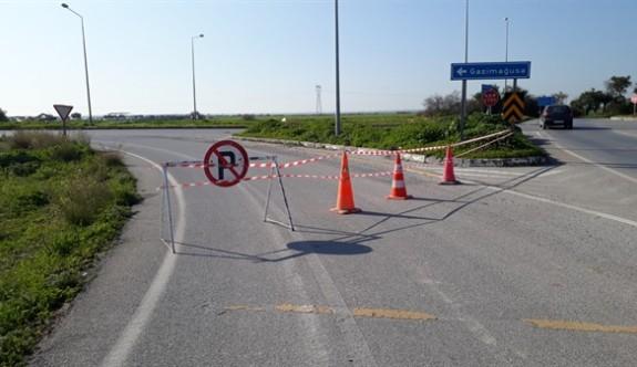 Dikkat bu yol trafiğe kapalı