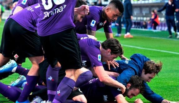 Fiorentina çeyrek finalde