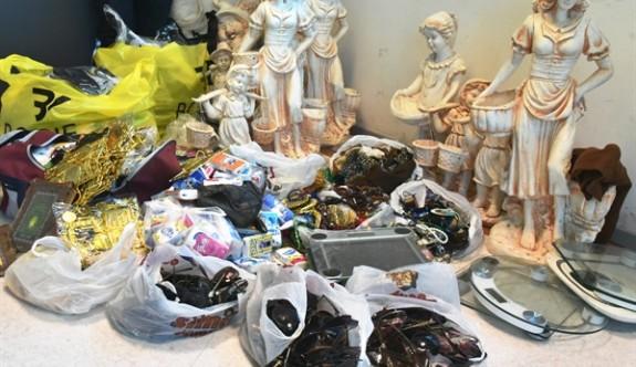 Lefkoşa'da izinsiz satış yapan kişilere cezai işlem