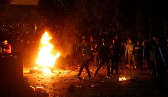 Lübnan'da protestolar şiddetleniyor: 35 yaralı