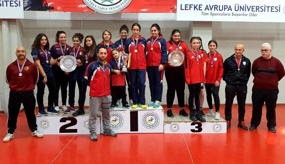 Masa Tenisinde şampiyonlar,  Akdeniz ve GAÜ
