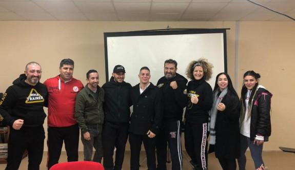 MMA sporcu, antrenör ve hakem kursu tamamlandı