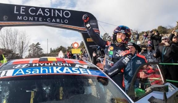 Monte Carlo Rallisi'nin galibi Neuville