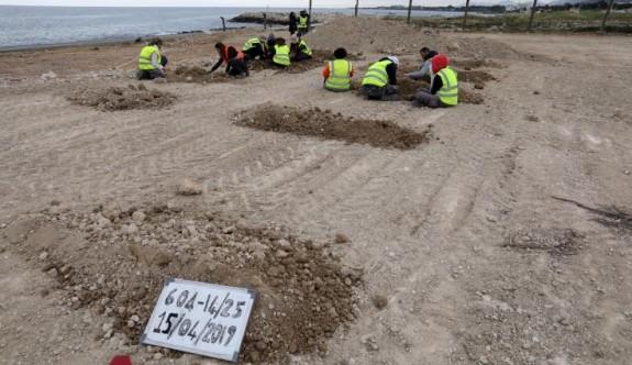 Pervolia sahilinde bulunan kalıntıların 1974 kayıplarına ait olabilir