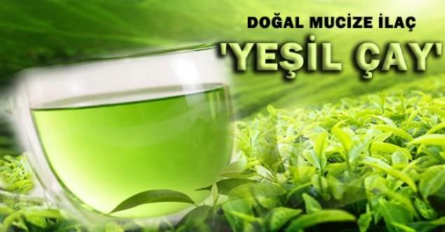 Yeşil çayın mucizeleri