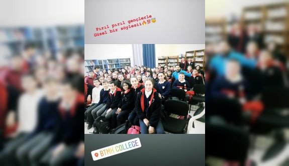 Yiğitcan'a okullarda yoğun ilgi