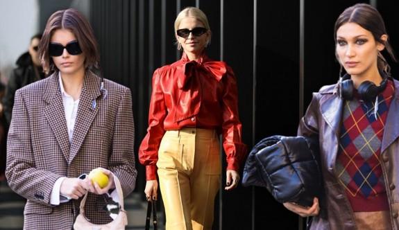 2020 Milano Moda Haftası'nda sokak stili