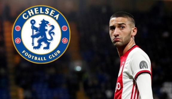 Ajax'lı Ziyech artık Chelsea'de