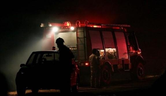 Çiftlikte çıkan yangında bir kişi öldü