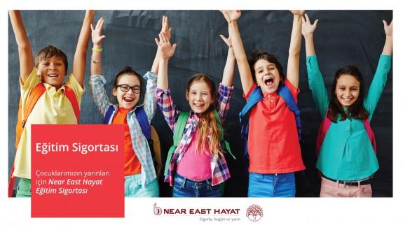 Çocukların eğitim geleceği Near East hayat güvencesinde