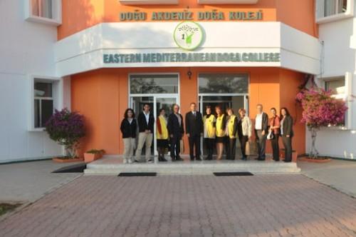 Doğu Akdeniz Doğa Koleji 11 yıllığına Özel Doğa Koeji'ne kiralandı