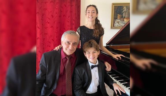 Genç piyanistlerden ABD'de birincilik