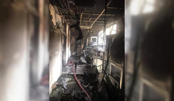 Hastane'deki yangının sebebiyle ilgili önemli açıklama