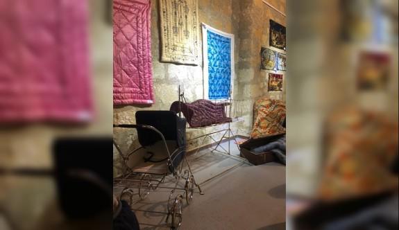 """Kaybolan Kültürümüz - Yorganlarımız"""" sergisi dün akşam açıldı"""