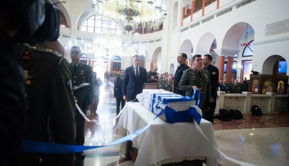 Kayıp Yunan askerinin cenazesi teslim edildi