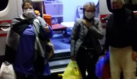 Alman turistlerden sağlıklı olanlar 24 Mart'ta ülkeleine gönderilecekler